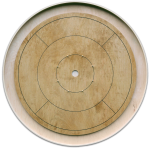 "Muzzies ""Annapolis"" Tournament Crokinole Board"