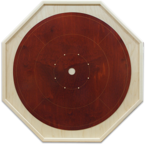"Traditional Octagon Crokinole Board, with ""Blomidon"" Finish"