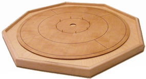 Muzzies crokinole board traditional annapolis angle